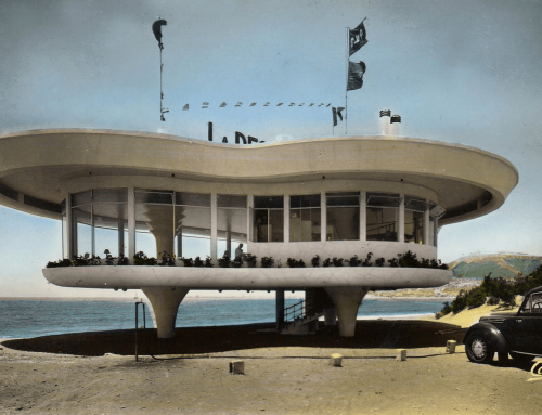 Astonishing restaurant La Réserve Agadir 1960